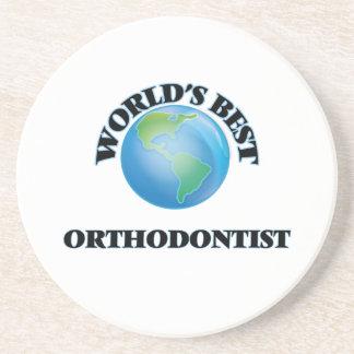 World's Best Orthodontist Coaster