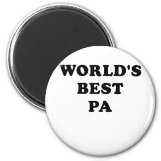 Worlds Best Pa Magnet