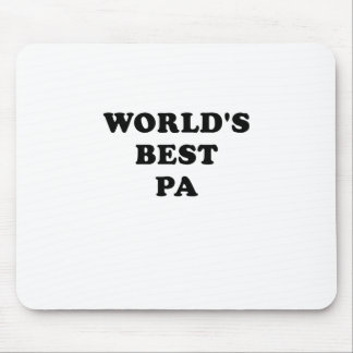 Worlds Best Pa Mouse Pad