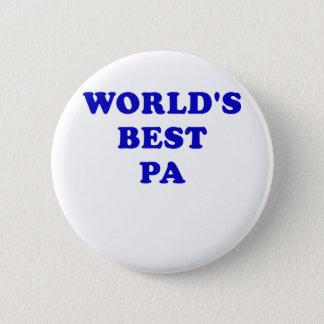 Worlds Best Pa Pinback Button
