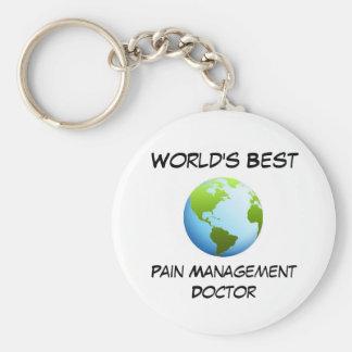 World's Best Pain Management Doctor Keychain