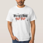 World's best Pap Pap T-shirts