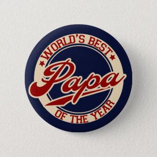 World's Best Papa Button