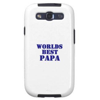 Worlds Best Papa Galaxy S3 Case