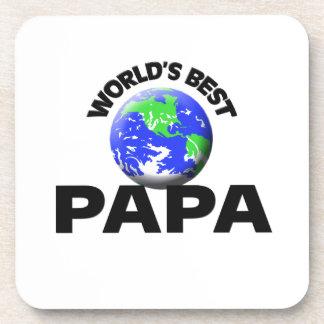 World's Best Papa Drink Coasters