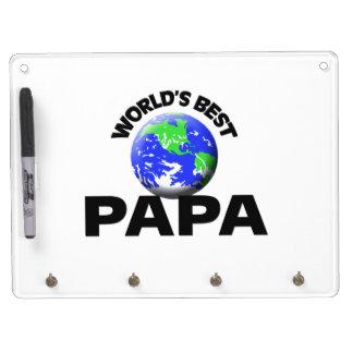 World's Best Papa Dry-Erase Whiteboard