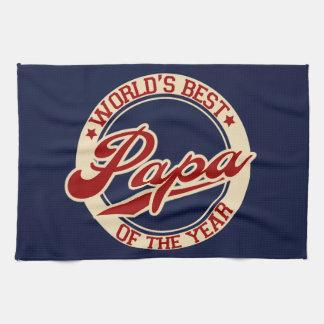 World's Best Papa Kitchen Towels