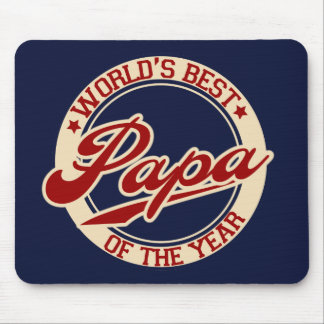 World's Best Papa Mouse Pad