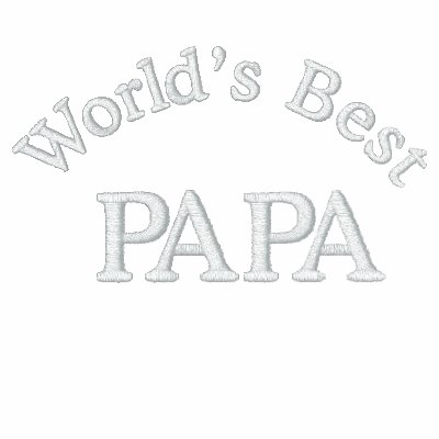 World's Best Papa Polos