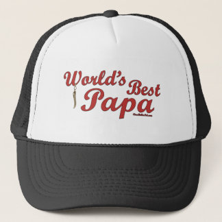 World's Best Papa Trucker Hat