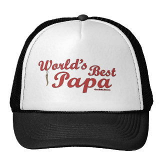 World's Best Papa Trucker Hat