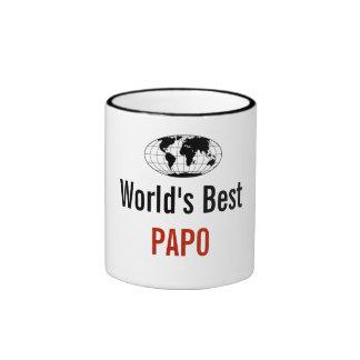 World's best Papo Ringer Coffee Mug