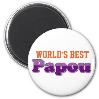 World's Best Papou Magnet