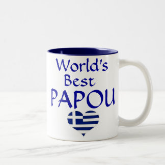 World's Best Papou Mug - for your greek grandpa!