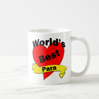World's Best Para Coffee Mug