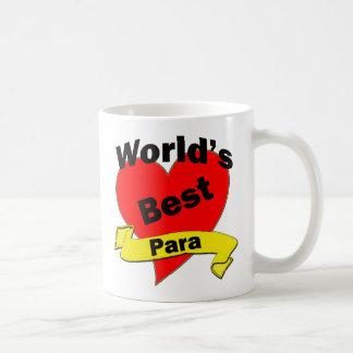 World's Best Para Classic White Coffee Mug