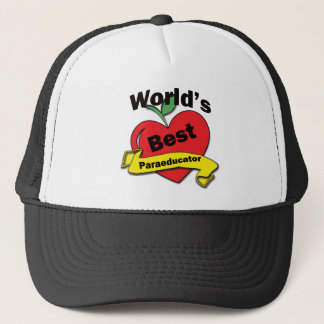 World's Best Paraeducator Trucker Hat