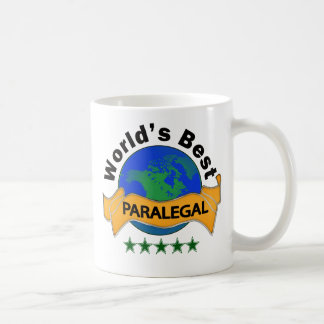 World's Best Paralegal Classic White Coffee Mug