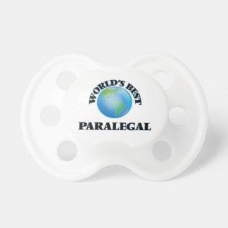 World's Best Paralegal BooginHead Pacifier