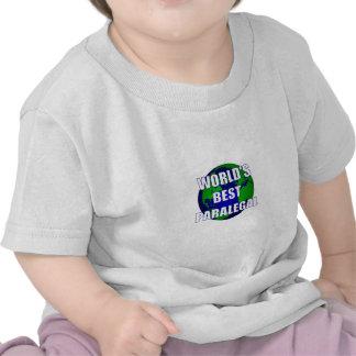 World's Best Paralegal T-shirt