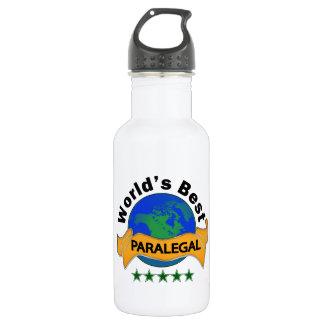 World's Best Paralegal Water Bottle