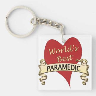 World's Best Paramedic Keychain