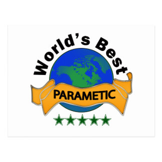 World's Best Paramedic Postcard