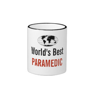 World's best Paramedic Ringer Coffee Mug