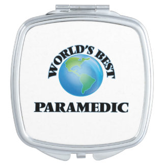 World's Best Paramedic Travel Mirror
