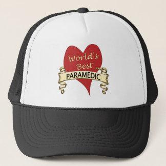 World's Best Paramedic Trucker Hat
