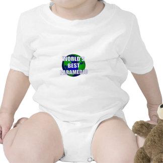 World's Best Paramedic Baby Bodysuits