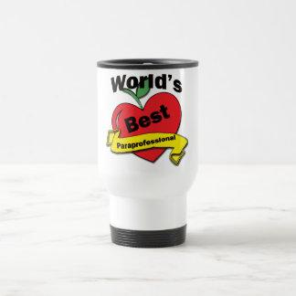 World's Best Paraprofessional Travel Mug