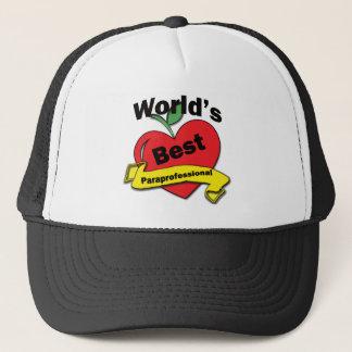 World's Best Paraprofessional Trucker Hat