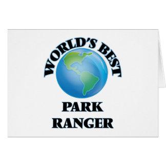 World's Best Park Ranger Card