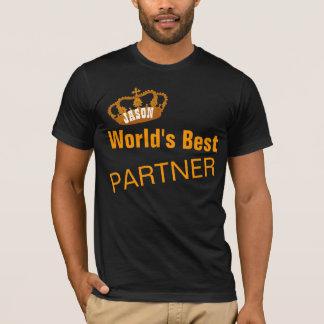 World's Best PARTNER Vintage Gold Crown A12 T-Shirt