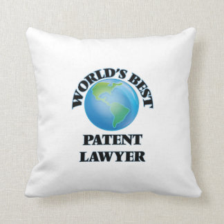 World's Best Patent Lawyer Pillows