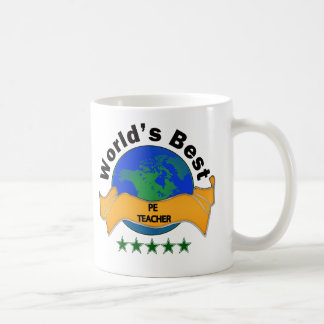 World's Best PE Teacher Coffee Mug