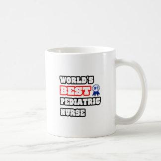 World's Best Pediatric Nurse Mugs
