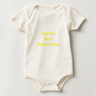 Worlds Best Pediatrician Baby Bodysuit