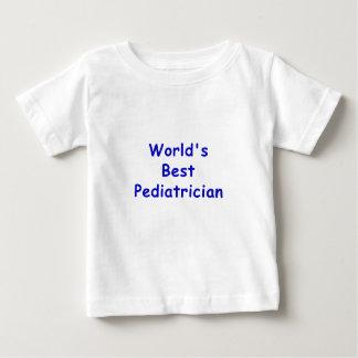 Worlds Best Pediatrician Baby T-Shirt