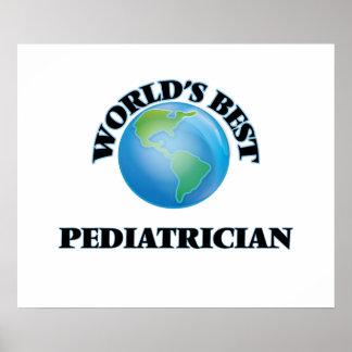 World's Best Pediatrician Poster