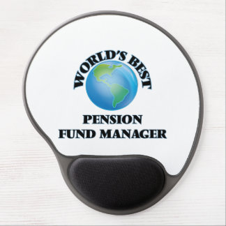 World's Best Pension Fund Manager Gel Mouse Mat