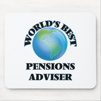 World's Best Pensions Adviser Mousepad