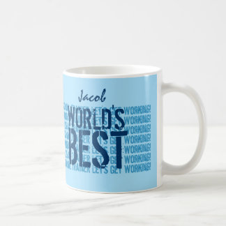 World's Best PERSONAL TRAINER Let's Get Working Z4 Coffee Mug