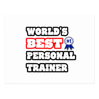 World's Best Personal Trainer Postcard