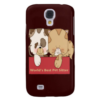 World's Best Pet Sitter Samsung Galaxy S4 Cover