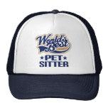 Worlds Best Pet Sitter Trucker Hat