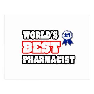 World's Best Pharmacist Postcard