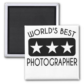 World's Best Photographer Magnet