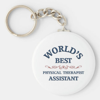 World's best Physical Therapist Assistant Basic Round Button Keychain